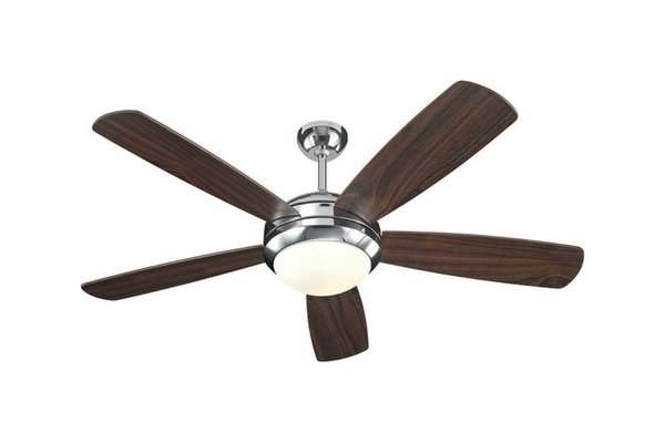 best polished nickel ceiling fan for bedroom