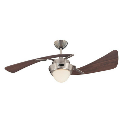 best bedroom ceiling fan with light kit with opal frosted glass