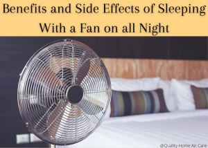 sleeping with a fan on all night