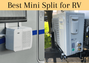 Mini AC Split for RV