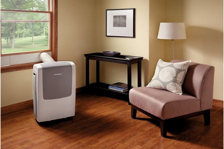 positioning portable air conditioner