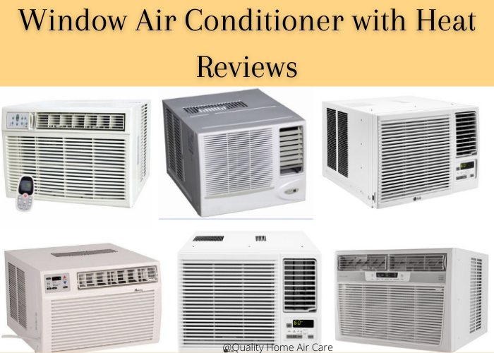 window air conditioner with heat