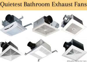 quietest bathroom exhaust fan