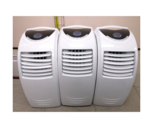 Small portable air conditioner for camper