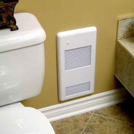 best wall mounted bathroom heater