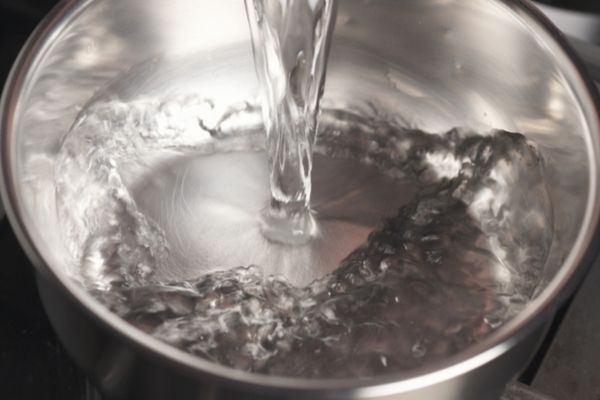 bowl of water on top of register