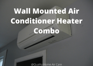 wall mounted air conditioner heater combo