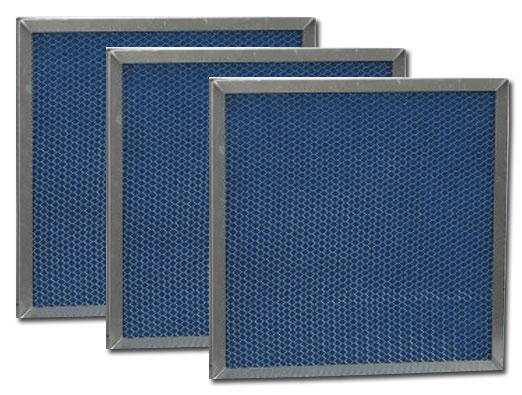 blue washable furnace filters cleaned