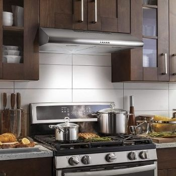 the best ductless under cabinet range hood with charcoal filter installed