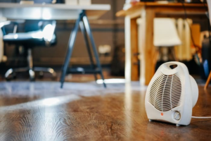 Best 1500 Watt Space Heater Being Used on the Floor