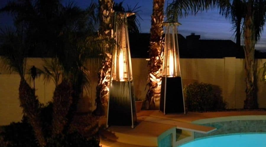 the best outdoor propane heaters installed in a restaurant