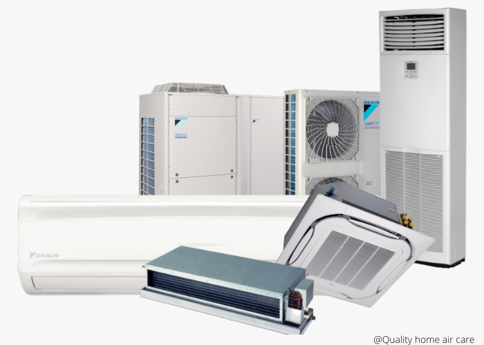 different types of air-conditioners