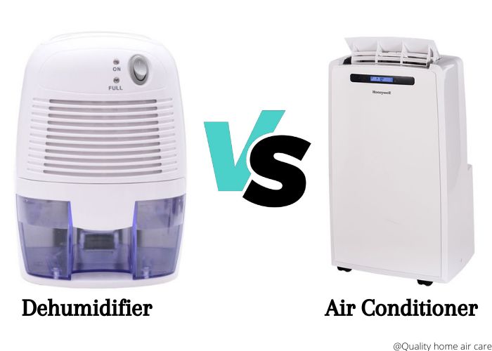 dehumidifier vs air conditioning