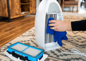 how to clean honeywell air purifier filter